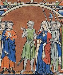 Images from the Maciejowski Bible,  13th century