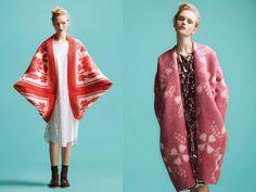 Это просто бомба! Пальто из советских одеял! Эстонский дизайнер Marit Ilison   Мой мир в фотографиях