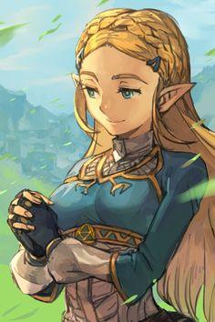 Legend of Zelda - Breath of The Wild - Princess Zelda #zelda #fanart #nintendo