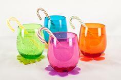 Grandes y pequeños disfrutarán usando estos lindos vasos.