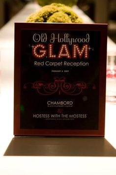 Hostess with the Mostess® - Old Hollywood Glam Cocktail Party- We could use this for invites/posters Schoenfeld Schoenfeld Beaman Hollywood Glamour Party, Hollywood Sweet 16, Old Hollywood Theme, Old Hollywood Wedding, 50s Glamour, Vintage Glamour, Prom Themes, Gala Themes, 40th Birthday