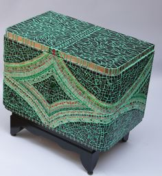picassiette mosaic, small furniture