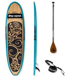 """Pau Hana Oahu 10' Stand Up Paddle Board  Dimensions: 10'L x 32""""W  Capacity for Beginning Paddlers: Up to 197 lb. Capacity for Intermediate Paddlers: Up to 225 lb  Capacity for Advanced Paddlers: Up to 263 lb.  $1,349.00"""