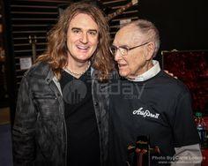 David & Cliff  Burton's father