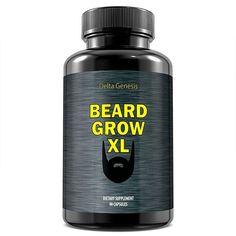 Beard Grow XL Facial Hair Supplement Vegan 1 Mens Hair Growth Vitamins Beard beard no sideburns Beard Hair Growth, Best Beard Growth, Hair Growth Pills, Facial Hair Growth, Hair Growth For Men, Biotin, Vitamins For Beard Growth, Growing Facial Hair, Grow Hair