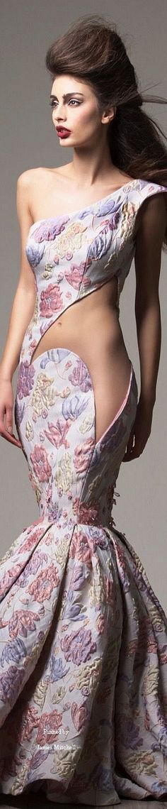 Date: 02/25/16 Notes: Saiid Kobeisy Couture Fall-winter 2015-2016. Absolutely love the design (specially the cut out). The fabric is nice too !