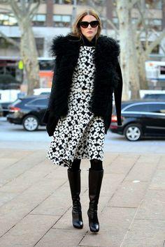 The Olivia Palermo Lookbook : Olivia Palermo At New York Fashion Week