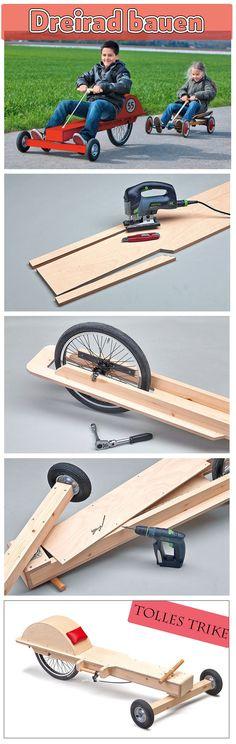 Ein Trike ist ein geniales Gefährt: Mit der Kraft in den Armen wird es angetrieben. Das Dreirad kann man selbst bauen – einfach unsere Bauanleitung befolgen.