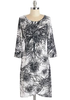 Go Haute on a Limb Dress. Its time to branch out - let this printed dress become a true conversation piece!