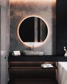 Modern Home Decor Interior Design Luxury Homes Interior, Luxury Home Decor, Home Decor Trends, Bathroom Interior Design, Decor Interior Design, Interior Decorating, Interior Design Examples, Interior Design Inspiration, Bad Inspiration