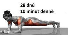 5 jednoduchých cviků, které za 4 týdny kompletně přetransformují vaše tělo