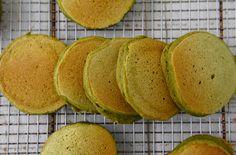 Vegan Green Pancakes from Weelicious