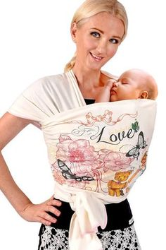 Organic Fair Trade Baby Wrap Carrier