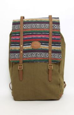 OBEY Mojave Map Backpack - Army
