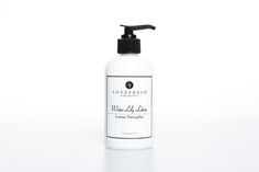 Water Lily LoveFresh hand and body lotion- all natural Bath And Body Shop, The Body Shop, Natural Spring Water, Natural Preservatives, Aloe Leaf, Organic Essential Oils, Hand Lotion, Body Love, Verbena