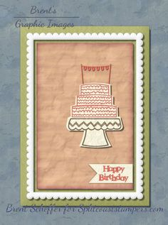 Happy Birthday, Paper Crafts, Frame, Cards, Color, Ideas, Happy Brithday, Picture Frame, Tissue Paper Crafts
