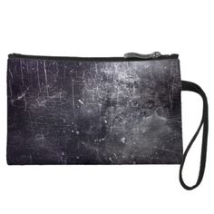 Gothic Grunge Marble Zip Top Clutch by BOLO CHIC.