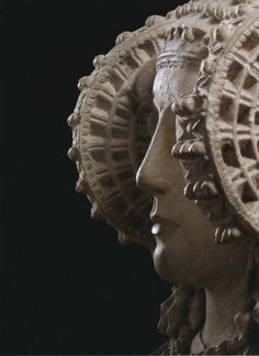 Museo Arqueológico Nacional, Madrid | Dama de Elche, Piedra caliza, Alcudia de Elche (Elche, Alicante), Siglos V-IV a.C. Arte Íbero