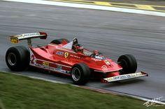 1980 GP Austrii (Gilles Villeneuve) Ferrari 312T5