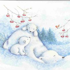 whimsical bears | Julie Clay - bears | Whimsical Artwork