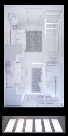 3d Illustration Childrens Room Interior Design - Architecture #3D Renders