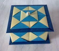 Origami Box Mosaic Box 1 300x256 Origami Box   Mosaic Box