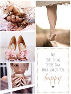 Do (at least) one thing every day that makes you happy!