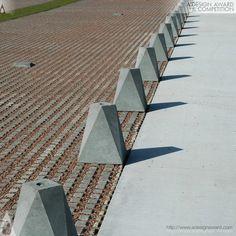 anti car element at invisible parkinglot fortification Vechten