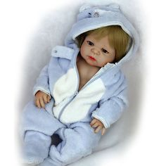 Dynamic 20inches Reborn Dolls Girl Boy Accompany Toys Collection Doll Nurse Mothers Training Doll Model Baby Dolls Action Figure Toys Easy To Lubricate Toys & Hobbies