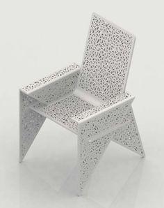 Unique Polypropylene Chair Design Ideas With Arm Storage Spaces