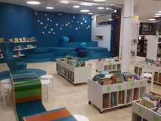 Vallentuna Public Library (SE) BCI Design Children's Area