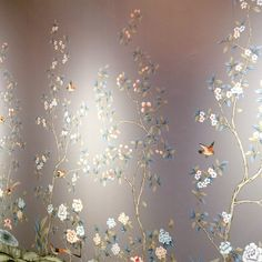 The Simple Decorating Trick That Designers Don't Want You To Know - laurel home | beautiful temporary Chinoiserie wallpaper from Tempaper