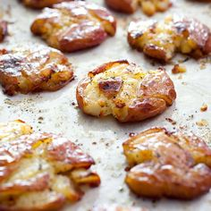 If you're torn between soft and creamy or crisp, crackly, we've got the perfect solution—Roasted Smashed Potatoes.