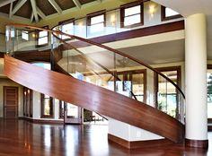 Glass Staircase contemporary-staircase