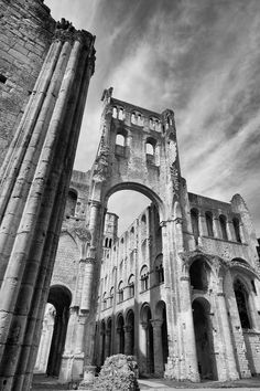 Abbaye de Jumieges French Cathedrals, Brooklyn Bridge, All Pictures, France, Photography, Travel, Photograph, Viajes, Fotografie