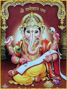 Sri Ganesh, Ganesh Lord, Lord Shiva, Lord Ganesha Paintings, Ganesha Art, Krishna Art, Indiana, Spiritual Religion, Ganesh Wallpaper
