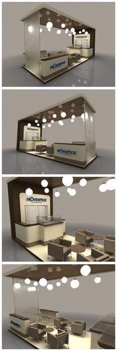 Movenpick Exhibition Stand on Behance