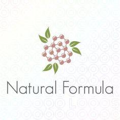 Natural organic formula #logo by dalia