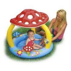 """Mushroom Baby Pool 40""""X 35"""""""