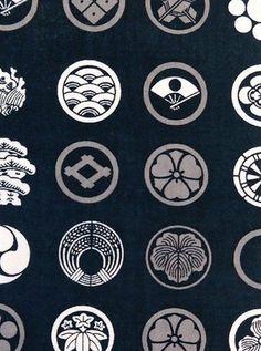 table cloth set up Japanese Logo, Japanese Cotton, Japanese Design, Japanese Tatoo, Motif Kimono, Japanese Family Crest, Art Asiatique, Art Japonais, Japanese Patterns