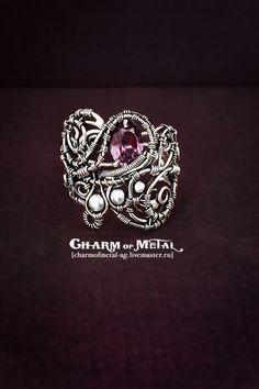 """""""Ainulindale"""" Серебряное кольцо - украшение,подарок девушке,подарок женщине"""