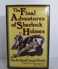 Sherlock Holmes -The Final ADVENTURES of SHERLOCK HOLMES by Sir Arthur Conan Doyle by CellarDeals on Etsy