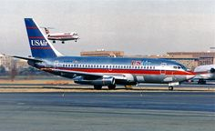 sboutellie:  N246US  737-200 USAir by RedRipper24 on Flickr.