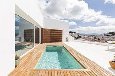 Modern House Design : Graham and Angus House / DTR_studio architects - Dear Art Malaga, Pool House Designs, Modern House Design, Swimming Pools Backyard, Swimming Pool Designs, Terrazzo, Jacuzzi, Terrasse Design, Building Concept
