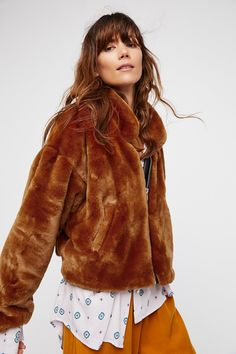 Shop our Furry Bomber at FreePeople.com. Share style pics with FP Me, and read & post reviews. Free shipping worldwide - see site for details.