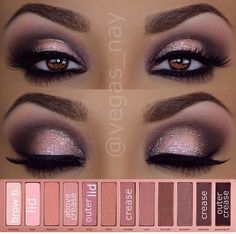 Naked 3-I have this and have yet to achieve this look... Or anything like it for that matter!