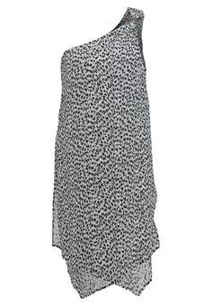 abstract korte jurk black michael kors #strandjurk #michaelkors