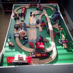 train table layout | Train Tables | Pinterest | Train table, Layouts ...