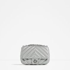 This Zara quilted crossbody is the perfect affordable alternative to a  Chanel flap bag. d940d395b4e
