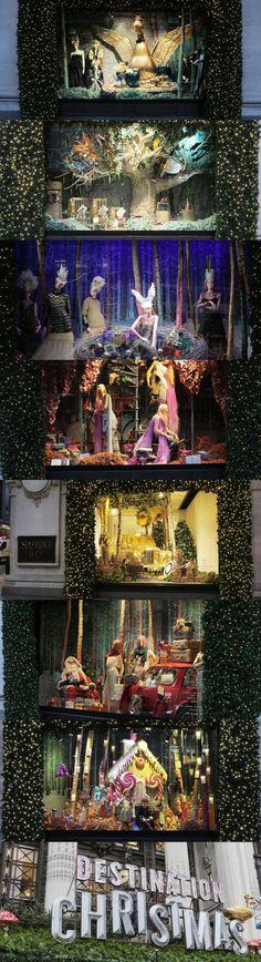 Selfridges Navidad 2014